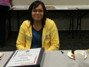 New Policy Committee Chairperson Monica Berenguel